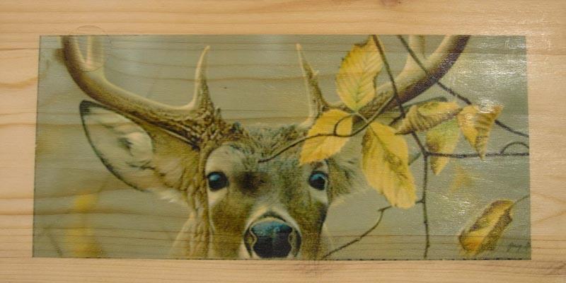 Печать фотографий на дереве на заказ