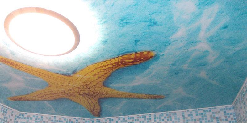 Печать на потолке в Москве