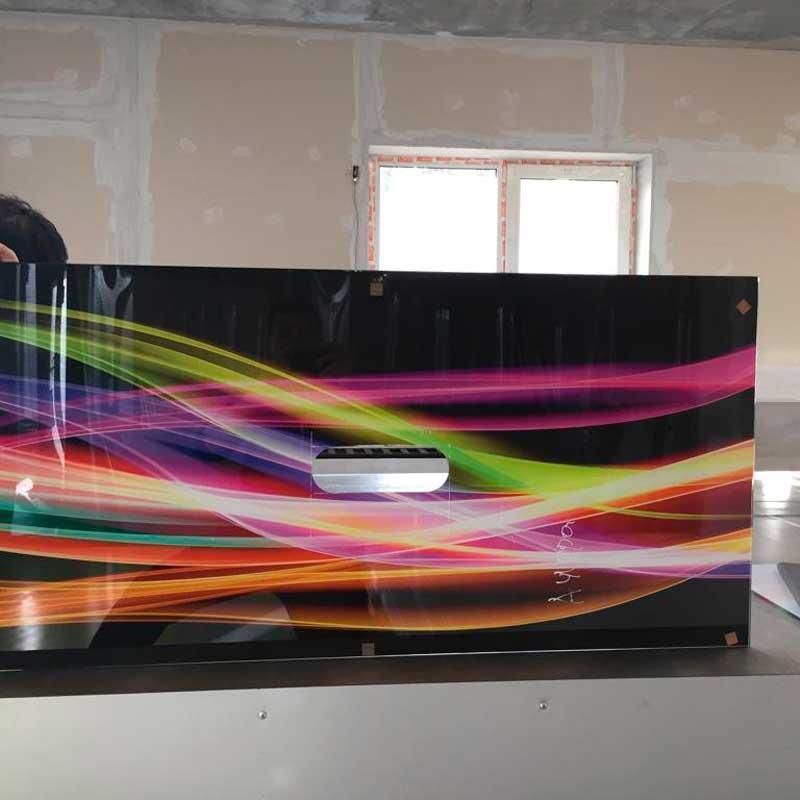 Ультрафиолетовая печать на пластике