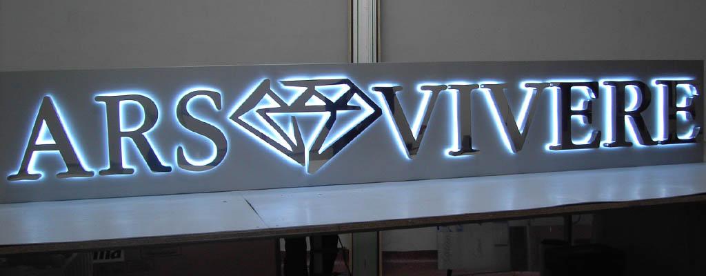 Производство рекламных вывесок под заказ в Москве